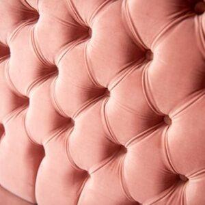 Ławka Glamour pikowana + fotele