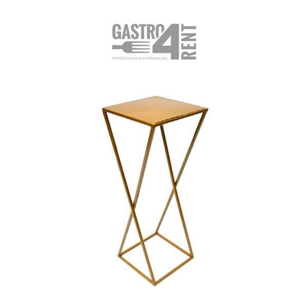 stojak geometryczny krzyzak 600x600 - Stojak  geometryczny krzyżakowy  70 cm 24cm x 24cm