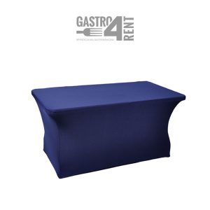 Pokrowiec elastyczny na stół prostokątny 150cm NavyBlue