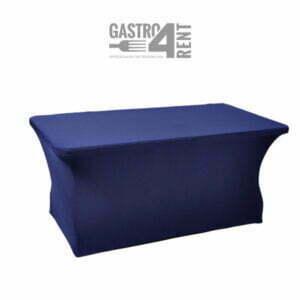Pokrowiec elastyczny na stół prostokątny 180cm NavyBlue
