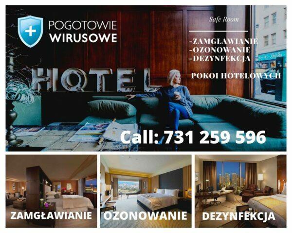dezynfekcja hoteli