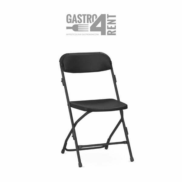 Krzeslo POLYFOLD czarne - Krzesła POLYFOLD black konferencyjne