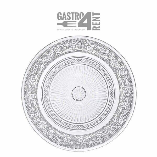 talerz krysztalowy - Kryształowy talerz -pod talerz , kryształ 31cm,22cm,18cm