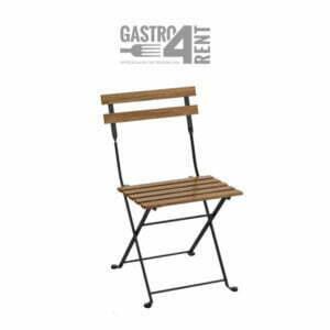 Krzesło metalowe składane TOSKANIA