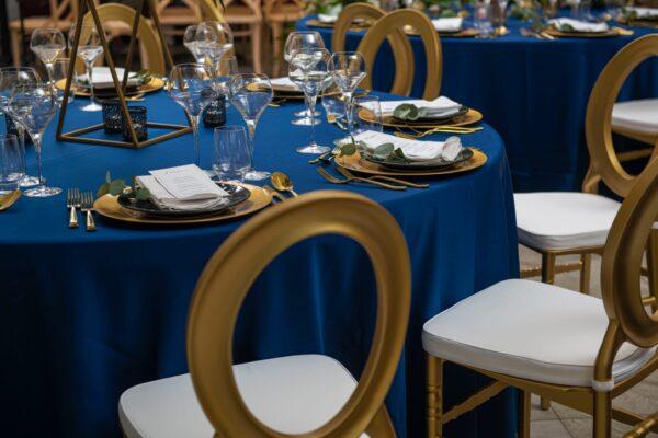 3 600x400 - Krzesło weselne O-back złote +poduszka
