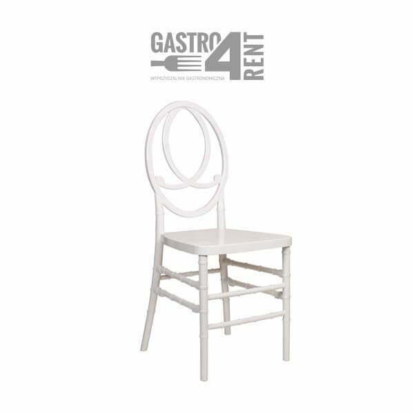 krzeslo weslene phoenix  - Krzesło weselne Phoenix Białe +poduszka Plener