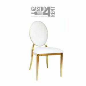 Krzesło weselne glamur złote glam