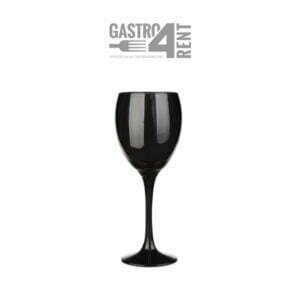 Kieliszek do wina czarny 300 ml szkło